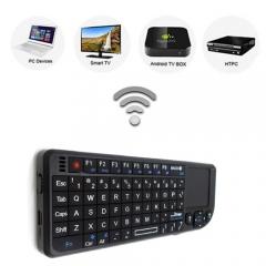 3 in 1 Handheld  Wireless Keyboard Qwerty Black 10*13*8cm