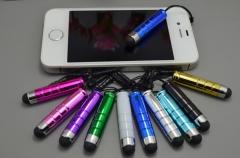 Plastic Bullet Capacitance Pen Multicolour 4*0.8cm