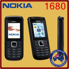 Genuine Unlocked Nokia 1680- Black and grey - Manufacturer Direct black