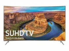 Samsung 8 Series -  LED Curved 4K SUHD Television - 65-Inch Silver
