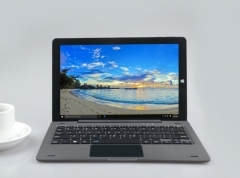 MUETY 10.1 inch Intel Atom Z8350 with keyboard 2in1 notebook Laptop wifi Notebook 4GB 64GB