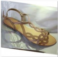 Bata LADIES SANDALS Rose Gold 3