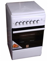 MIKA MST60PI22WH/SD 2 Gas Burner & 2 Electric Hot Plate with Oven & Grill - White