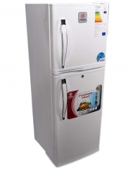 MIKA MRDCD75WHT 138 Litre Double Door Refrigerator - Silver