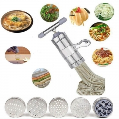 Kitchen Pasta Noodle Press Machine Vegetable Fruit Juicer Stainless Steel as the picture One Size