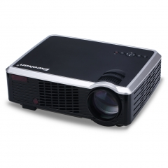 Excelvan Home Entertainment LED33-02 Projector with 2000 Lumens Support 1080P Black One size