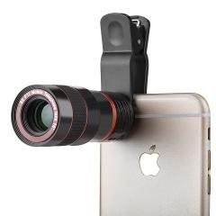 8 X Zoom Camera Telephoto Telescope Lens Phone Clip