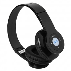 Wireless Multifunction Bluetooth Headset TF SD FM for IOS Phone Tablet Smartphone Laptop PC Black