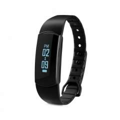 Smart Bracelet Bluetooth 4.0  Waterproof  for Android IOS Black One size