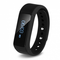 Smart Bracelet Waterproof Touch Screen for Android IOS Black One size