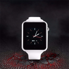 Smart Watch X6S Bluetooth WristWatch For Andriod iPhone 420mAh IPS screen Camera FM 8G SD White