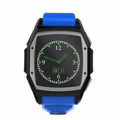 Smart Watches Heart Rate SOS GPS Call Reminder Sports Phone Watch Blue