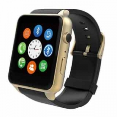 Smart Watches GT88 Heart Rate with GSM/GPRS SIM Card Bluetooth Smartwatch For IOS Android Gold