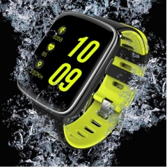 GV68 Smart Watch waterproof Summer Swim Wristwatch Sync Phone Call Notification pushing Heart green