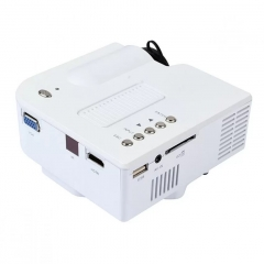 Portable Mini LED Projector Multimedia Home Movie TV Cinema Theater Digital LED PC&Laptop Proyector White