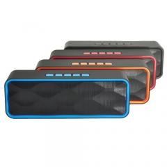 HIFI Stereo Bass Subwoofer Speaker Wireless Bluetooth  Loudspeaker/Music Play TF Handsfree 3.5mm AUX blue mini