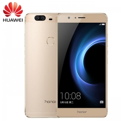 Original Huawei Honor V8 Smart Phone 5.7 inch Android 6.0 Octa Core 4GB RAM 32/64GB ROM FingerPrint 32gb rom gold