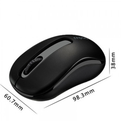Rapoo M10 2.4G Mini Optical Wireless Mouse Reliable 1000DPI  white black