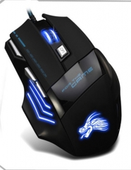 Generic USB Wired Gaming Mouse - Black blakc one size