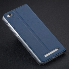 Original MSVII Flip Cover For Xiaomi Redmi 3s Case Blue normal