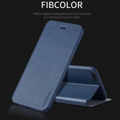 X-Level Business style leather flip phone case for iphone 6 6s 6 plus 6s plus luxury case cover blue Iphone 6
