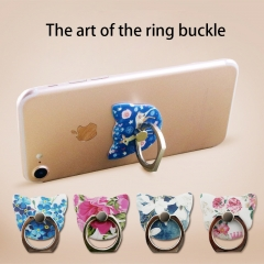 Literature And art fashion Finger Buckle Andrews Apple Intelligent Mobile Phone General Stent random color one size no