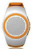 Watch Bluetooth Speaker Wireless Mini Sound Card Movement Run Portable General Small Sound white one size