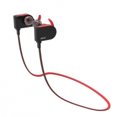 Wireless Bluetooth Movement Headset Hanging Ear Style Stereo Run Music Portable Ear Style Earplugs red