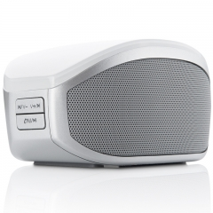 Double Horn wireless Bluetooth Card Sound Portable Bass Notebook Bluetooth Sound white one size