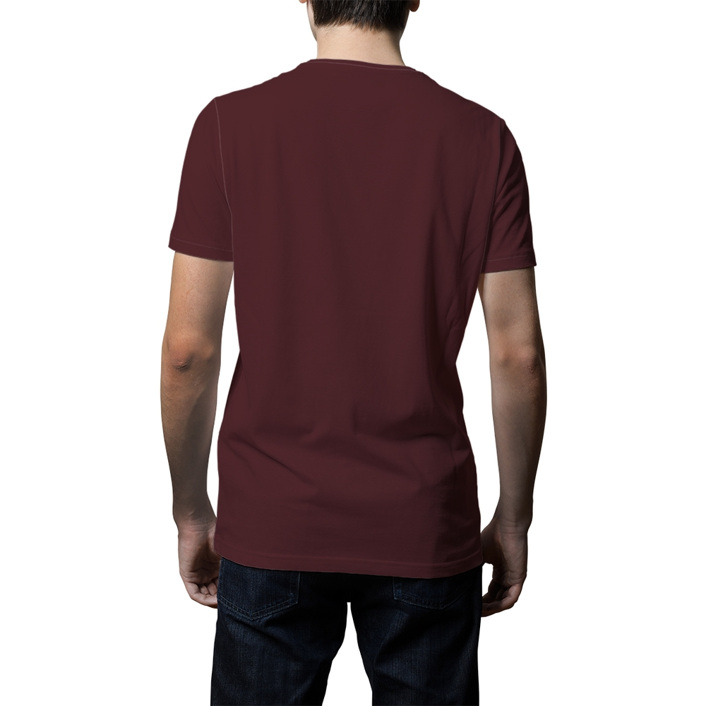 music turns me on men's t-shirt maroon maroon s