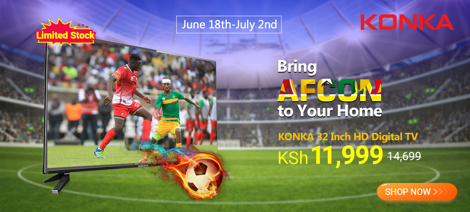 Bring Afcon to Your Home-TV SALE