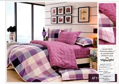 Four piece Long-staple cotton multicolored duvet cover sets Multicolor 5*6