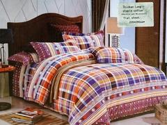 One piece multicolor flat sheet (Thicken Long Staple cotton) Multicolor 5*6