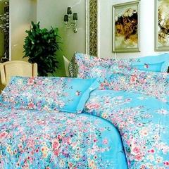 Two piece multicolor pillow case (Thicken long staple cotton) Multicolor 48cm*76cm