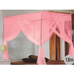 Pink Condole type court mosquito nets #8807 one color 6*6