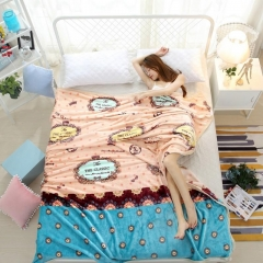 Multifunctional Thin Blanket Soft Breathable Skin-Friendly Durable color as picture 200cm*230