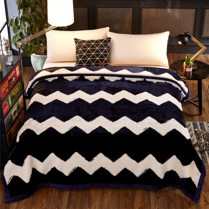 3.5KG Thick Soft Blanket Comfortable Soft Multifunctional Warm color as picture 200cm*230