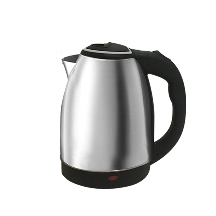6 Months Warranty SCARLETT Electric Kettle VDE 2 Plug 220-240V 2L Cordless Silver & Black 2L