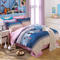 100% Preferred Cotton 4Pcs Bedding Set (1 Duvet cover+1 Bed sheet+2 Pillow covers)  Smooth Soft color as picture 6*6