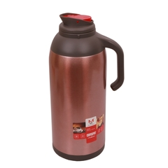 1.9L Stainless Steel Thermos Flask Coffee Pot Water Kettle With Glass Liner (FWH6030-1.9L) rose red