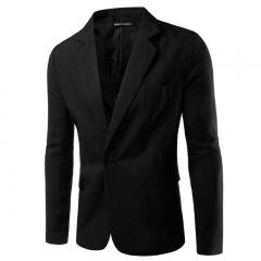 korean Men casual Suit slim Jacket blazer coat man 007 xl