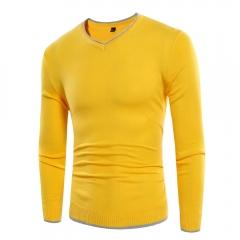New simple men's long sleeve sweater SW03-P35 004 3xl