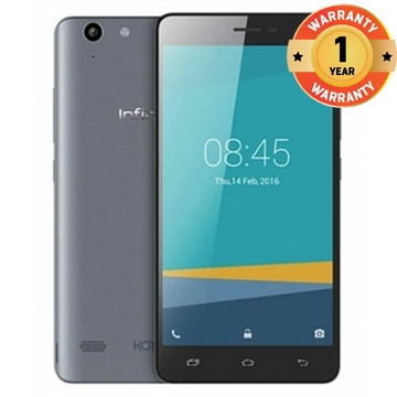INFINIX Hot 3 LTE - X553 - 5.5 HD, 4G network, 5MP+13MP, 2GB +16GB, Dual SIM,Best Smart Mobile Phone Grey