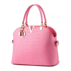 Fashion And Classic Women Handbags pink one size