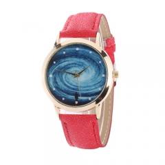 Star Series Galaxy Nebula Creative Student Watch black