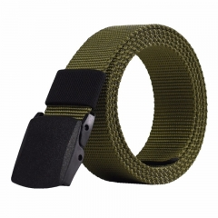 Male High Quality Designer Brand Automatic Buckle Belt For Men Casual Style Tactical Belt For Jeans khaki
