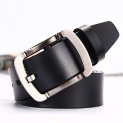 cowhide genuine leather belts for men cowboy Luxury strap brand male designer belt black 105cm