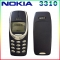 Refurbished phone Nokia 3310 cheap phone unlocked GSM 900/1800 with multi language dark blue