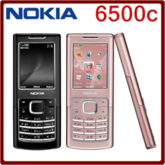 Refurbished phone Nokia 6500c 100% UNLOCKED 6500 CL GSM Cellphone gold brown