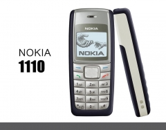 Refurbished phone Unlocked Nokia 1110 1110i mobile phone Dualband GSM 900 / 1800 Cellphone red